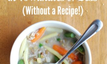 How to Make Soup from Scratch in 15 Minutes Without a Recipe
