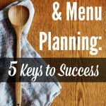 Type-B Personalities & Menu Planning: 5 Keys to Success