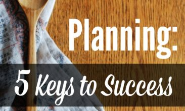 Type-B Personalities & Menu Planning: 5 Keys to Success