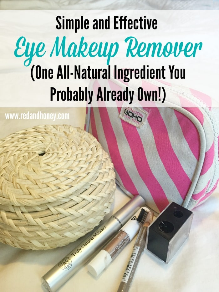 I seriously cannot believe I haven't made this discovery before now. This works amazingly well, plus it's frugal and totally natural! Total win!