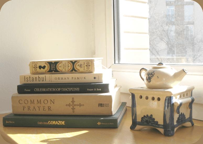 Books and sunshine