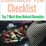 Stomach Flu Checklist: Top 7 Must-Have Natural Remedies