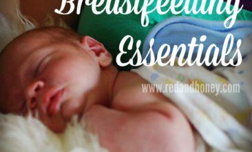 My Top Ten Breastfeeding Essentials