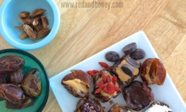 Super Simple Stuffed Dessert Dates