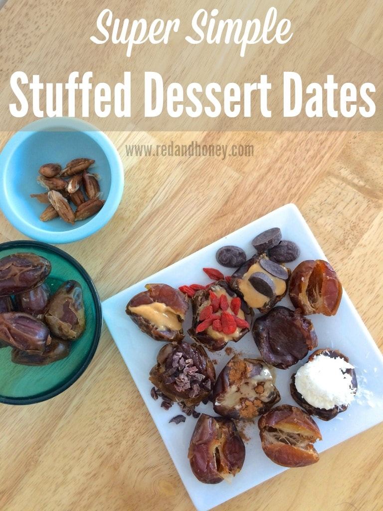 If you're not familiar with dates, you absolutely must try them. I was doubtful at first, but once I tried them, I realized how perfectly decadent and sweet they are (but without the side effects of refined sugars and junk in other desserts)...  they are the perfect real-foodie dessert!