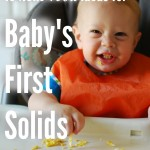 15 Real Food Ideas for Baby's First Solids