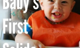 Ditch the processed rice cereal and give these 15 ideas a try for introducing your baby to the world of solid foods!