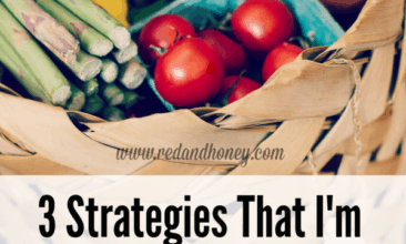 3 Strategies That I'm Using to Save on Groceries This Month