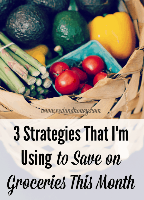 These three strategies for saving money on groceries have been really working well for me this month. #2 is pretty unconventional!