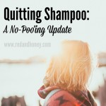One Year After Quitting Shampoo: A No-Poo'ing Update