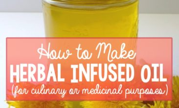 How to Make Herbal Infused Oil