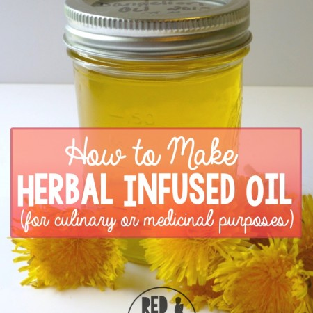 How to Make Herbal Infused Oil - R&H main