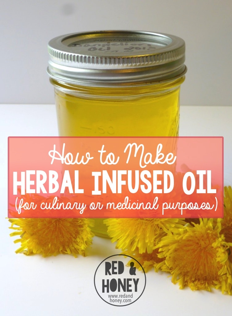 I like herbal infused oils because they are a great base for making salves, lotions and lip balms. Many different herbs are used to fight infections, soothe skin ailments, and soften and offer protection to the skin. This is a great tutorial to have on hand for those who enjoy DIY skincare products. (It's perfect for making your own infused cooking oil too!)