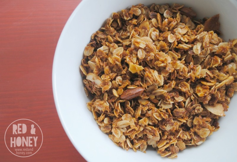 Maple and Shredded Coconut Granola - R&H horizontal2