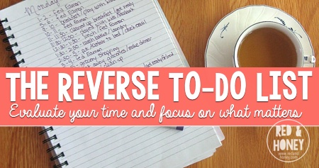 The Reverse To-Do List - R&H fb image