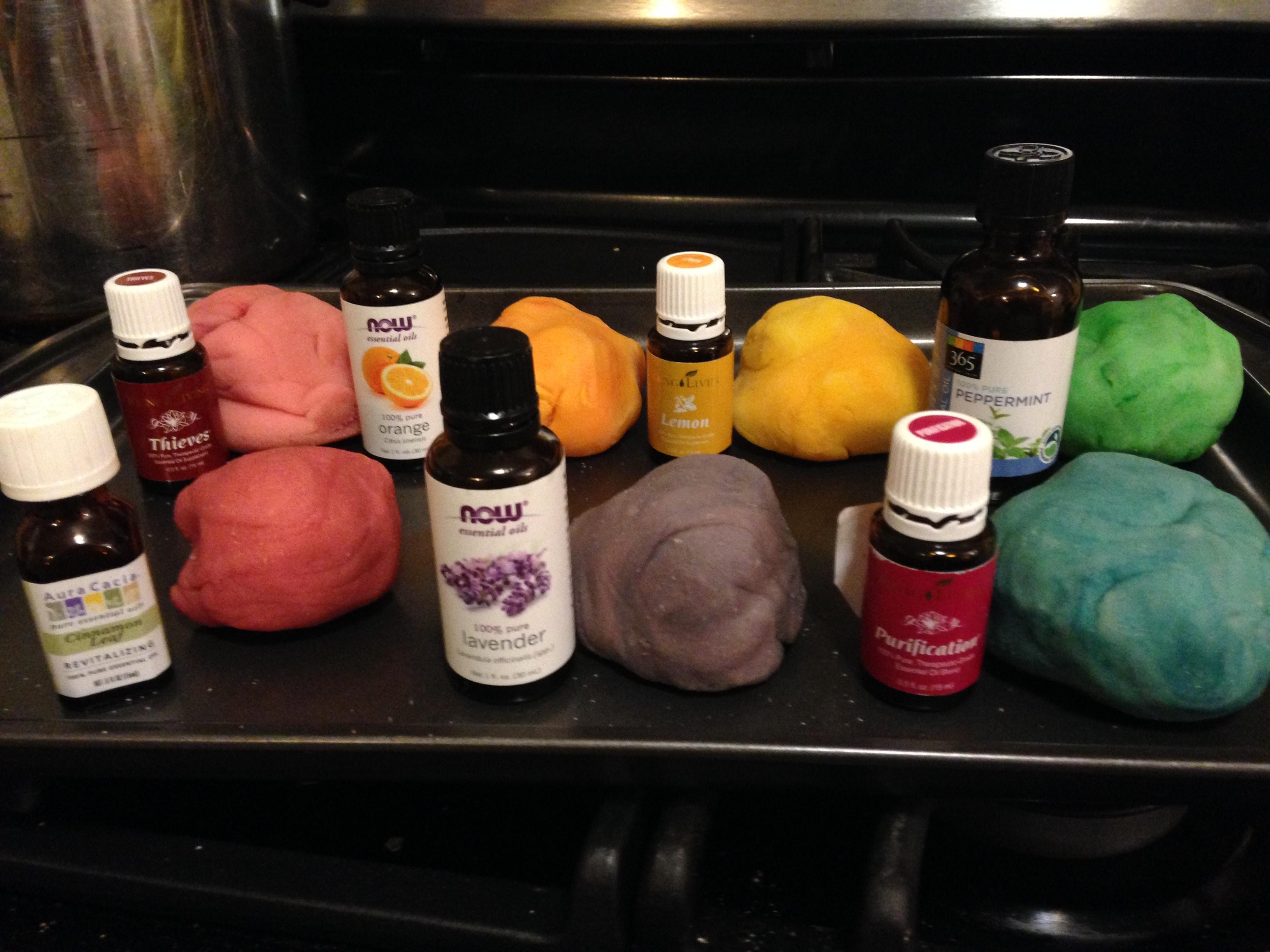 1 Aromatherapy play dough