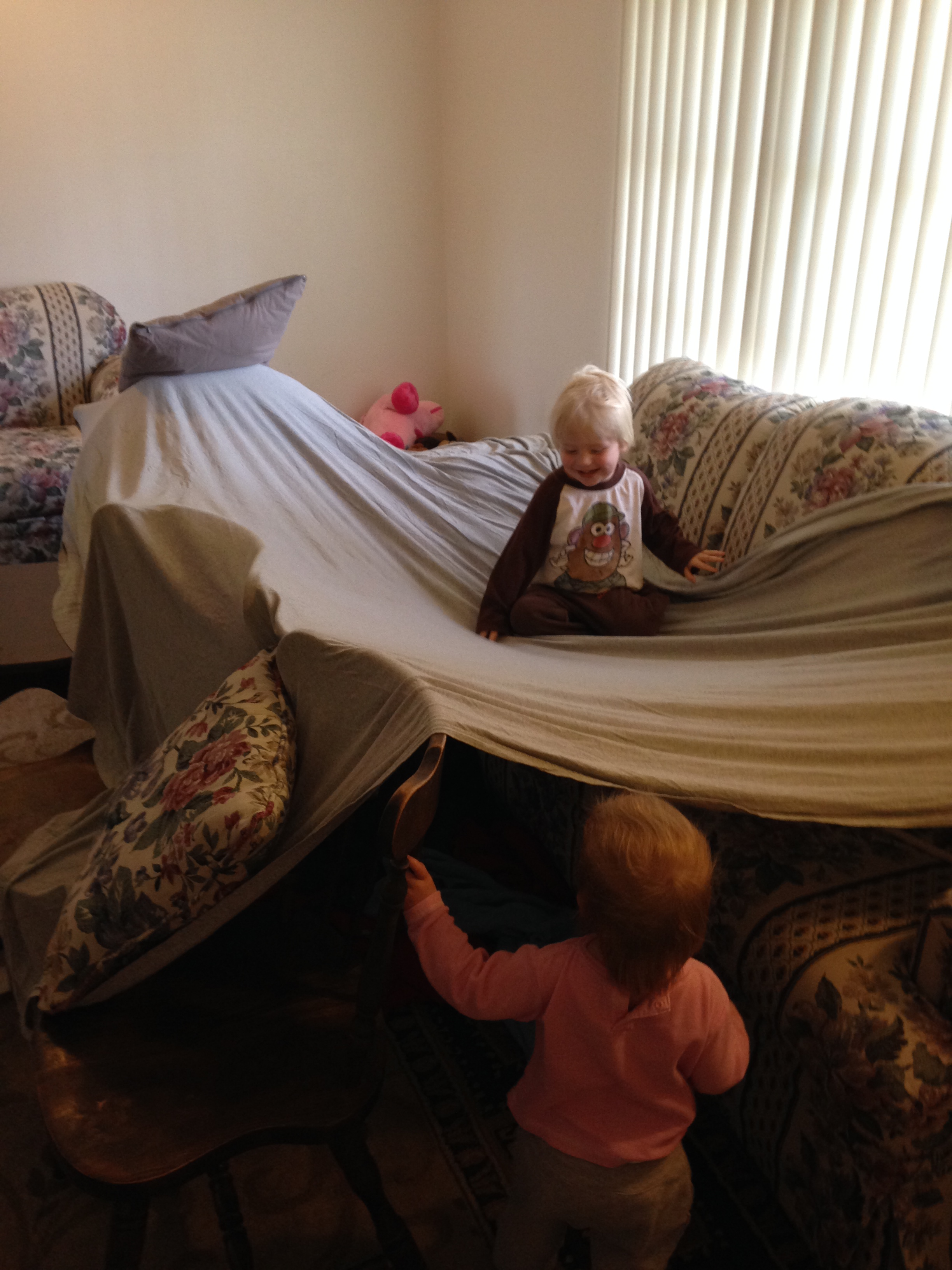 6 five seconds after building the fort