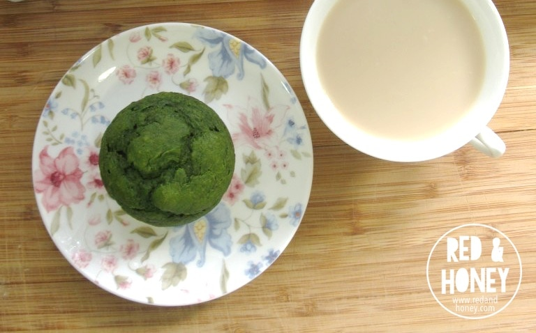 Blueberry Spinach Muffins - R&H 1