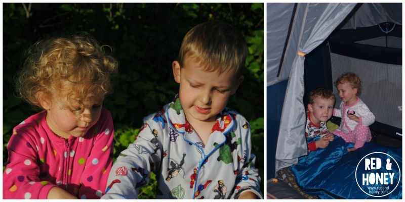 Camping Collage 2