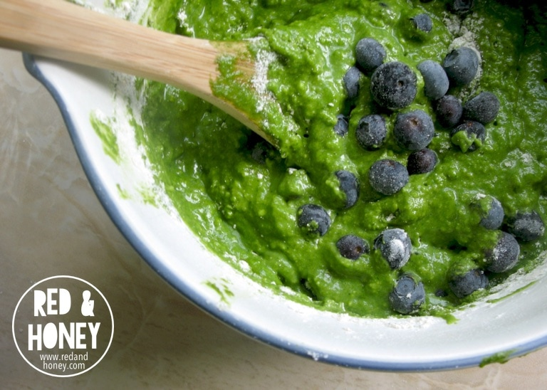 Healthy Blueberry Muffins - R&H2