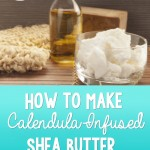 DIY Calendula-Infused Shea Butter Salve