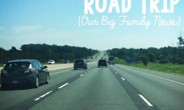 An Unexpectedly Life-Changing Road Trip (Our Big Family News)
