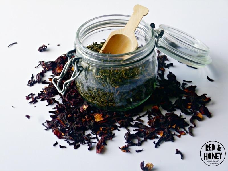 Hibiscus-Green Iced Tea3