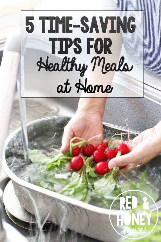 These tips are simple but so smart, and are perfect for busy families who don't want to have to resort to take-out when they have nothing else planned. I think #3 is especially helpful for kids that are always hungry (like mine!) :)