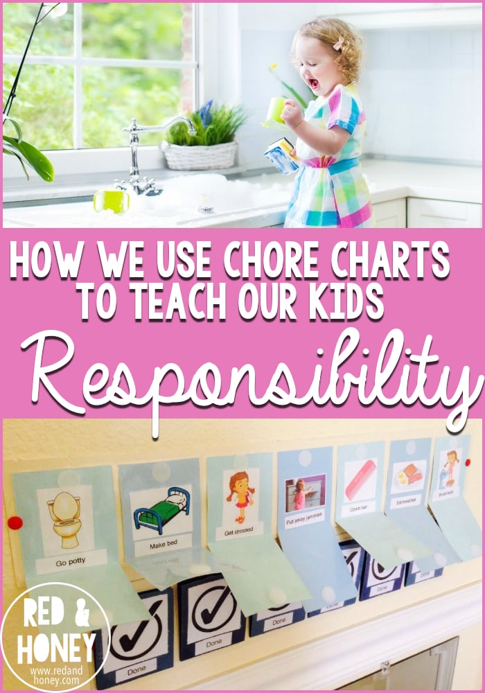 How We Use Chore Charts to Teach Our Kids Responsibility - R&H main