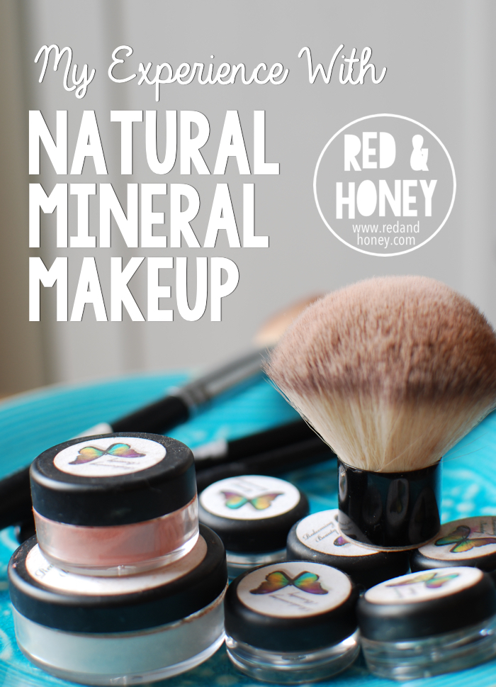 My Experience With Natural Mineral Makeup - Red and Honey
