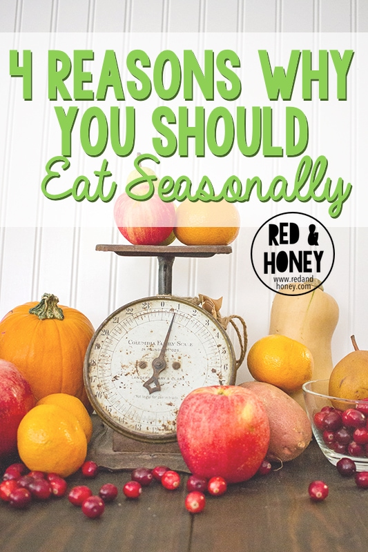 4 Reasons Why You Should Eat Seasonally - R&H main