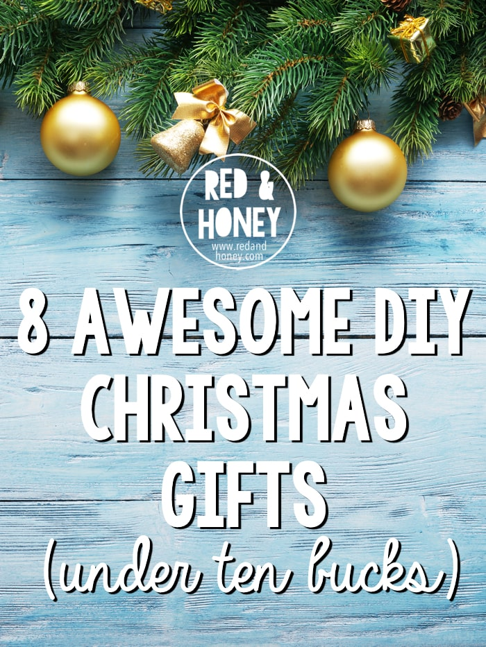 These gift ideas are legitimately awesome, and I'd be thrilled to be on the receiving end. Not your typical cheap-looking gifts, either. I am totally doing several of #1, and #6 is just brilliant!
