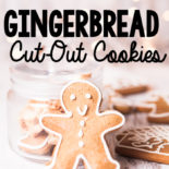 These simple gingerbread cookies are so easy - the only flour needed is buckwheat, and they taste amazing!