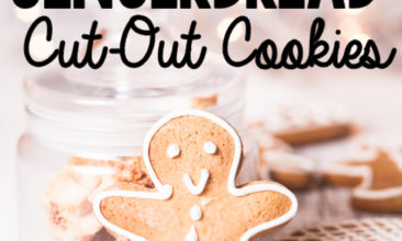 Gingerbread Cut-Out Cookies (Gluten-Free)