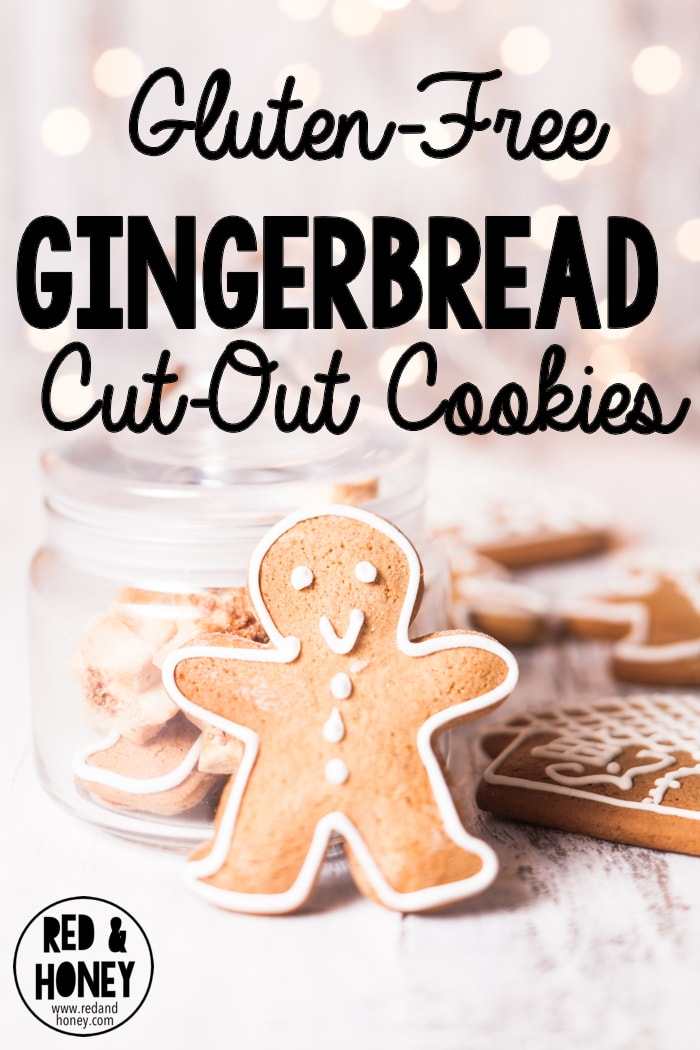 These simple gingerbread cookies are so easy - the only flour needed is buckwheat, they're sweetened with just dates, and they taste amazing!