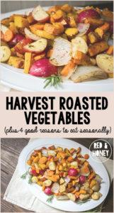 Harvest Roasted Vegetables - R&H