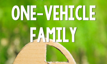How We Live (Happily) As a One Car Family