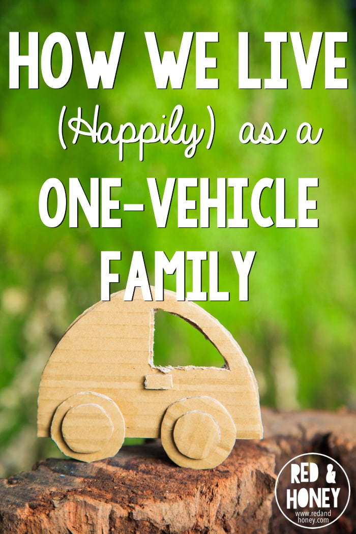 There are lots of incentives to live as a one-vehicle family, but it can be tough. Here's how one family makes it work, and why.