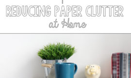 Paper clutter is the WORST. These tips seem totally manageable. Definitely going to try them!