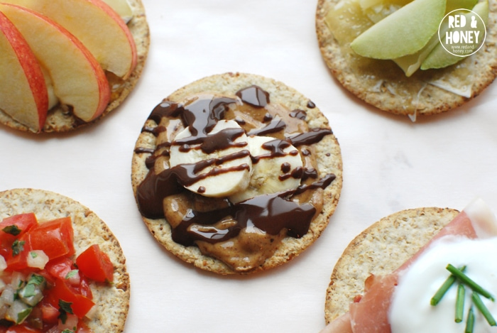 5 Real-Food Cracker Topping Ideas - R&H1