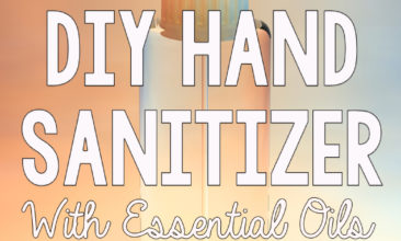 DIY Hand Sanitizer with Essential Oils