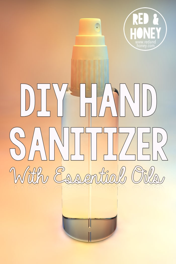 Store bought hand sanitizers are great at killing germs but are full of chemicals. You can make your own DIY hand sanitizer with essential oils that works just as well without the harsh chemicals.