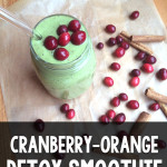 Cranberry-Orange Detox Smoothie