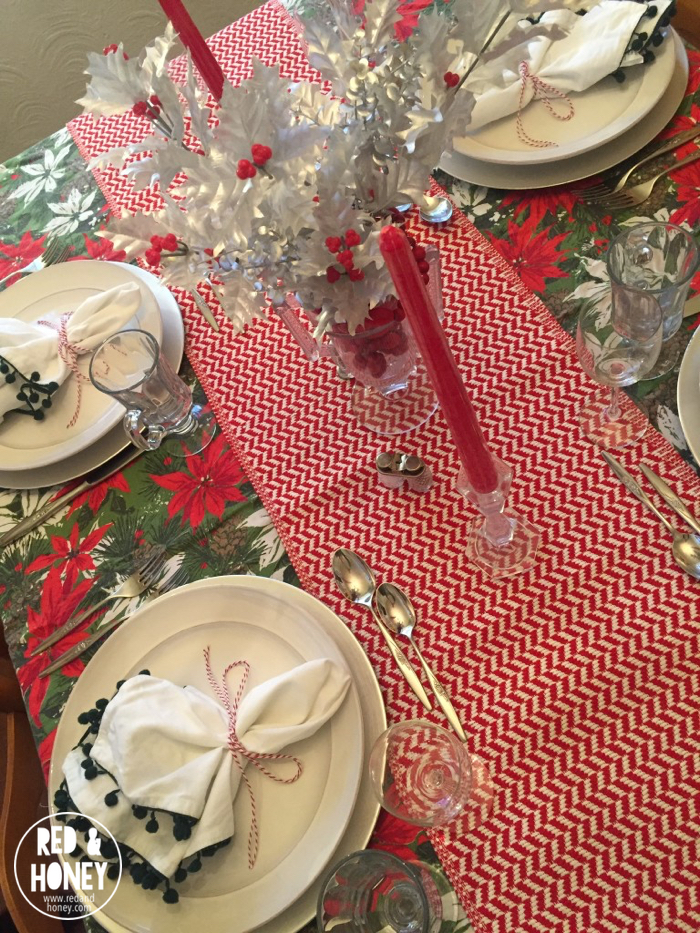 How to Set a Beautiful Holiday Table on a Tight Budget - R&H7