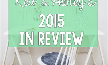 Red & Honey's 2015 In Review