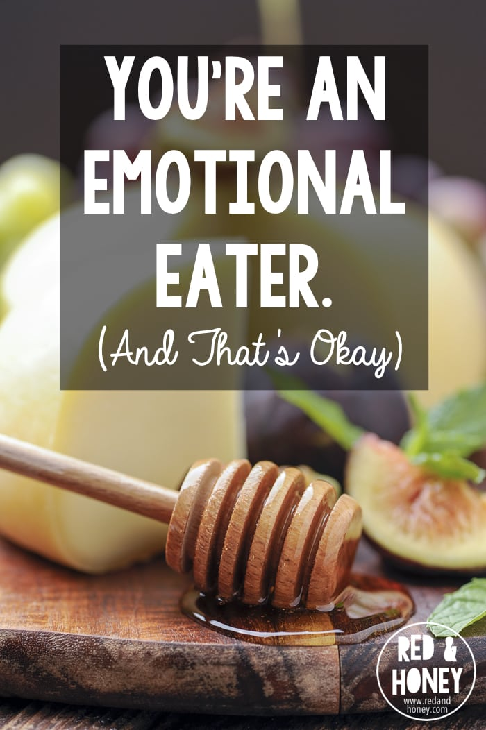 Is there an emotional component to eating? I think that's pretty obvious. The question is - should there be? How could this be a good thing?