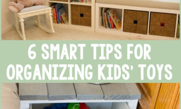6 Smart Tips for Organizing Kids' Toys