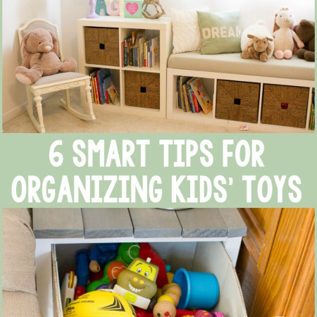 6 Smart Tips for Organizing Kids' Toys - R&H main