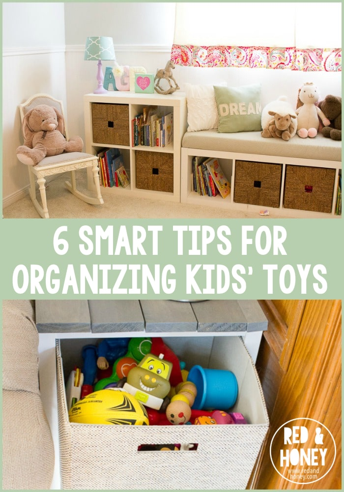 6 Smart Tips For Organizing Kids 39 Toys Red And Honey