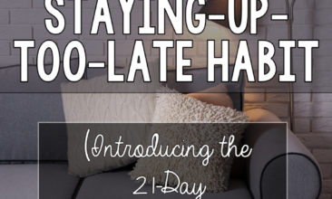 How I Finally Kicked My Staying-Up-Too-Late Habit (Introducing the Go-to-Bed Challenge!)